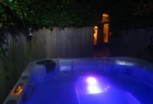 Private Hot Tub for Lazy Fish guests